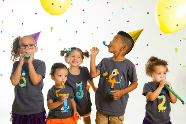 Yippitee Kids Birthday Shirts