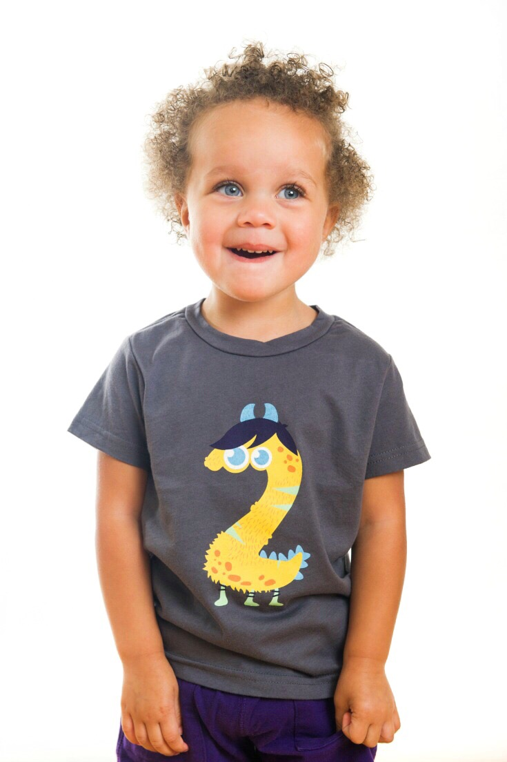A Monster 2nd Birthday Shirt They Can Wear For More Than One Day Second