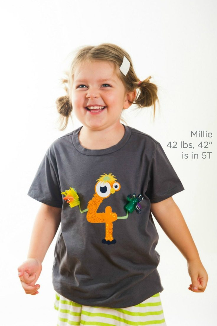 The Coolest Monster 4th Birthday Shirt There Ever Was Detachable Finger Puppets Snap On And