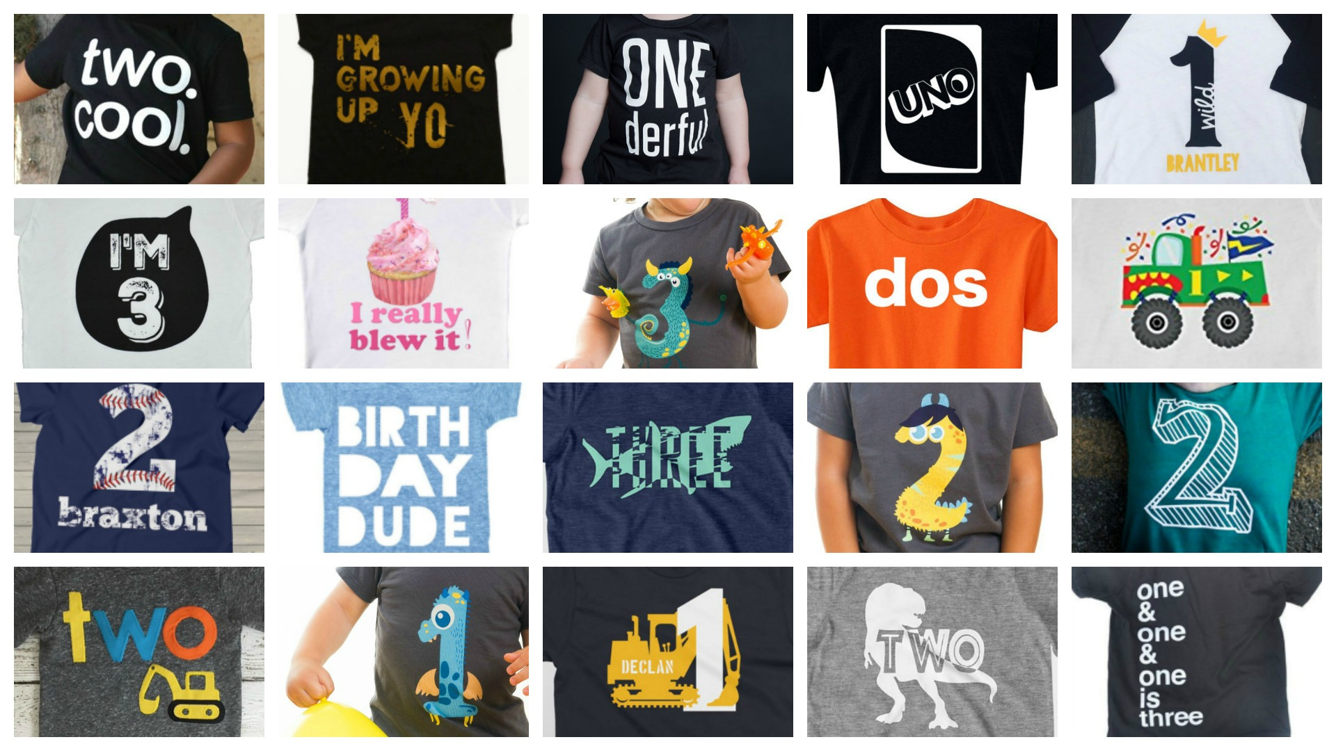 36 Hip Adorable Birthday Shirts For Toddlers