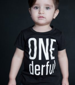 ONEderful First Birthday Shirt