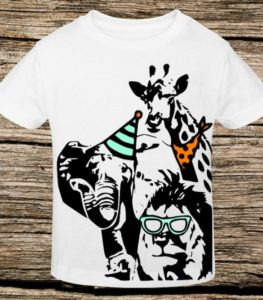 Party Animals Zoo Birthday Shirt