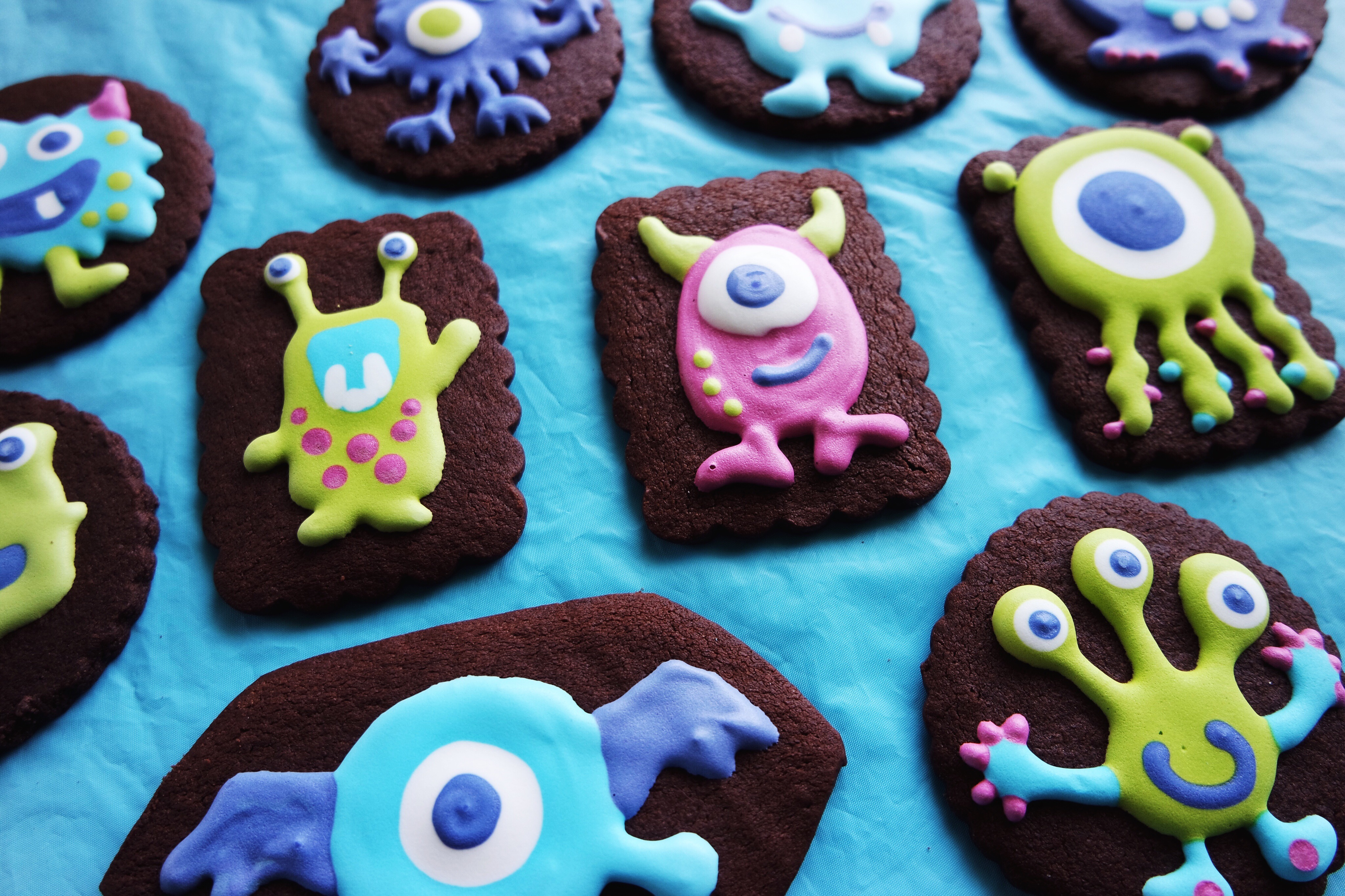 Little Monster Birthday Party Ideas - fun decoration and sweets ideas for baby & toddler monster parties