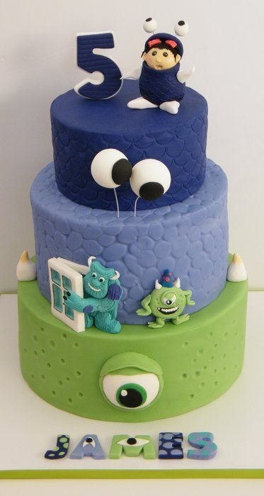 Ultimate Monster Birthday Cake Inspiration Board 13 Amazing Cakes
