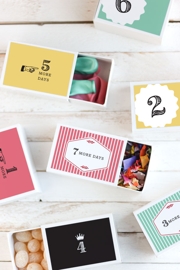 13 DIY Birthday Countdown Ideas Your Kid Will Love Simple To Complex Advent Calendar