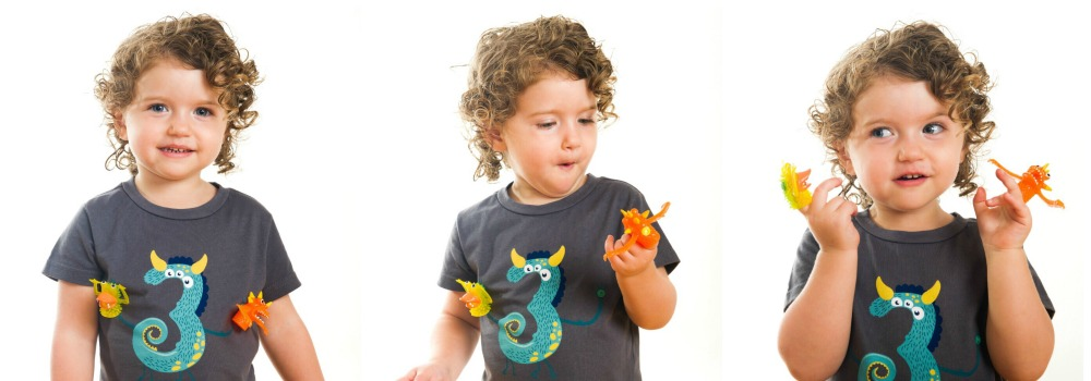 ippitee birthday shirts are soft, fitted, perfect year-round, and with their detachable finger puppets, they are just plain fun!