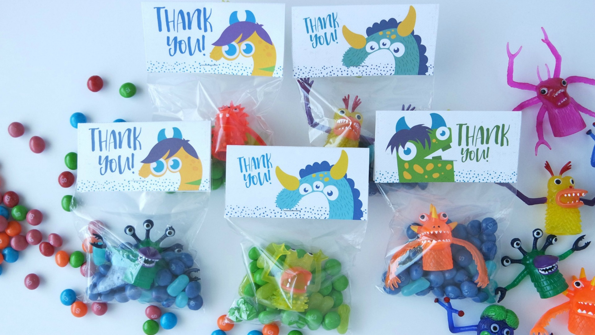 13 Monster Party Favors All Kids Will Love | Monster Birthday ...