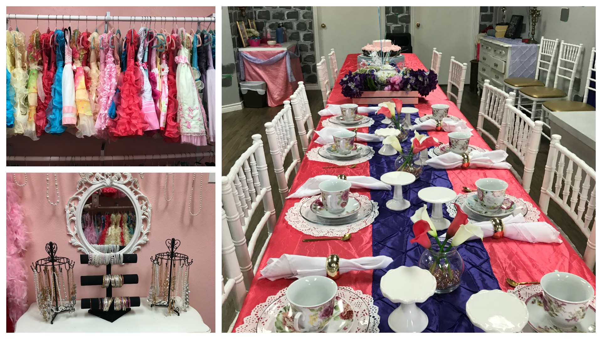 Tiaras and Tea Parties is the perfect venue for your little princess! // The Ultimate List of Kid-Friendly Party Venues in Austin - Over 50 birthday party venues in Austin for babies, toddlers, and preschoolers sorted by location and price. Plus an interactive map to find your closest-to-home options. #austintexas #atx #austintx