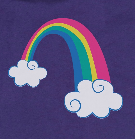 The sweetest rainbow baby shirt for your little miracle. #rainbowbaby #rainbowshirt #rainbowbirthday