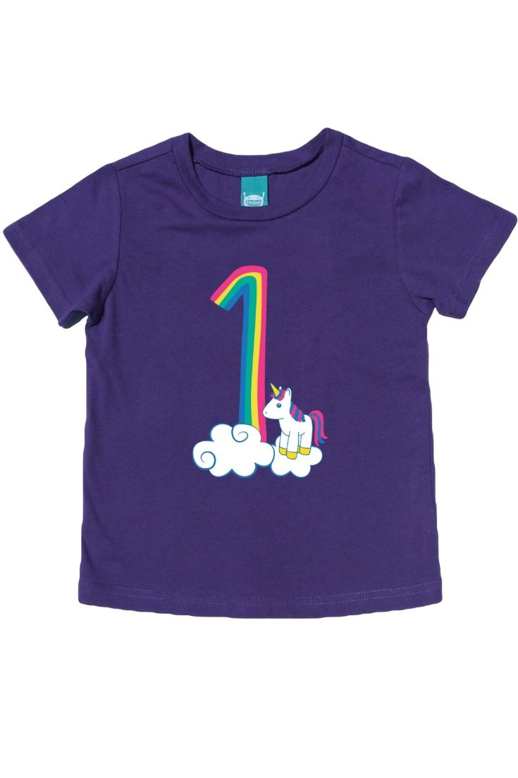 The cutest rainbow unicorn first birthday shirt there ever was! Celebrate this big milestone with an adorable 1st birthday shirt that your little one can wear all year. Perfect for the cake smash, birthday party, and every day. #unicornparty #unicornbirthday #rainbowunicorn #rainbowbirthday // 1 monster, first birthday shirt, first birthday shirt, 1st birthday shirt, first birthday shirt boy, 1st birthday t-shirts, kids birthday shirts, birthday girl shirt, birthday boy shirt, toddler birthday shirt #birthdayshirt #kidsbirthdayshirts #birthdaygirl #birthdayboy #toddlerbirthday