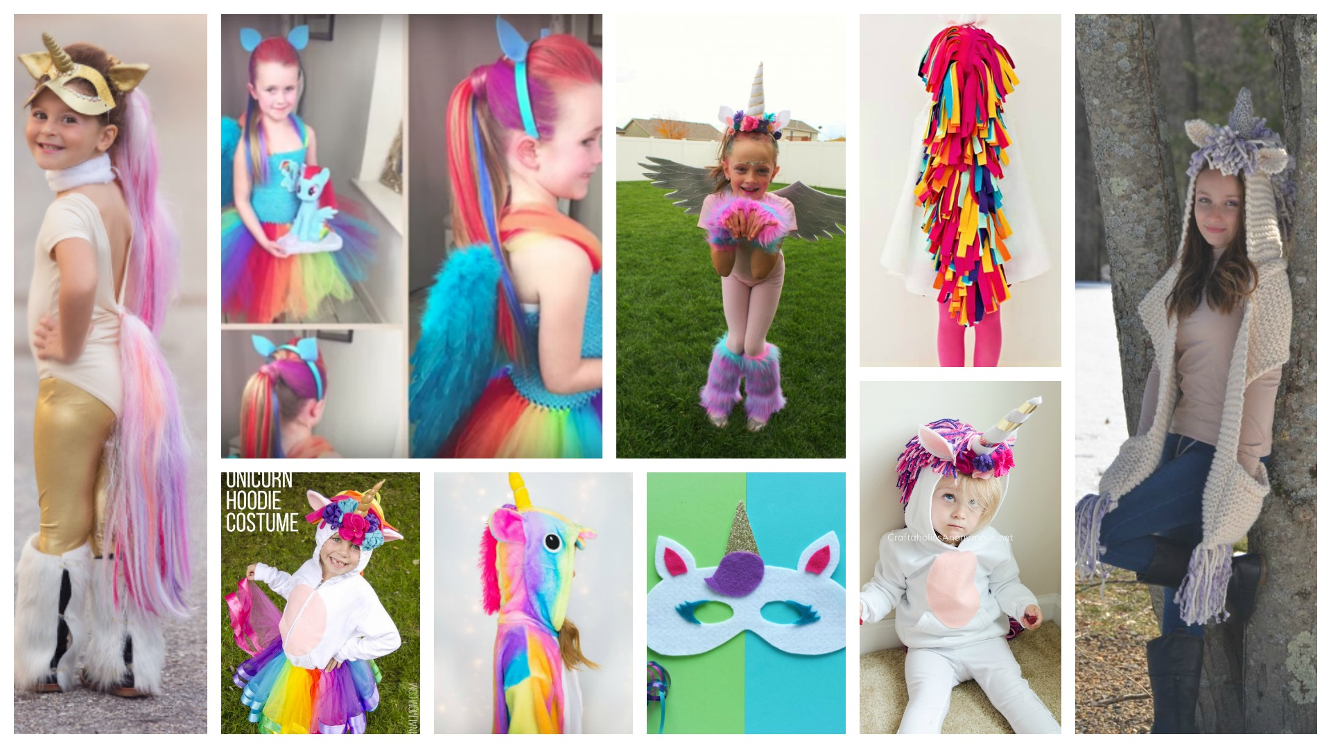 11 Rainbow Unicorn Costume Ideas to DIY or Buy